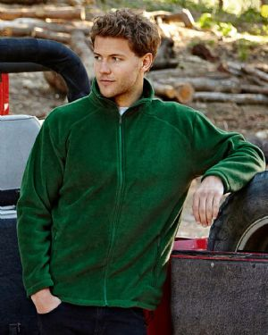 62510 Fruit Of The Loom Full Zip Outdoor Fleece